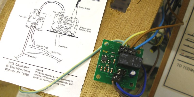 The NCE Powercab: initial expriences Nce Dcc Wiring Diagrams For On Boards on
