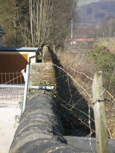 Prototype view of loication of Calder Valley Bridge 109