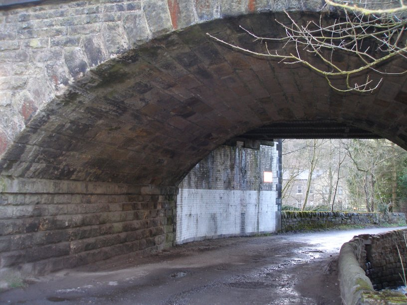 Calder Valley Main Line Bridge 118 details
