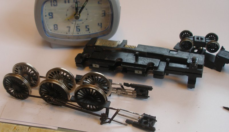 Bachmann Jubilee with Buelher motor conversion to DCC