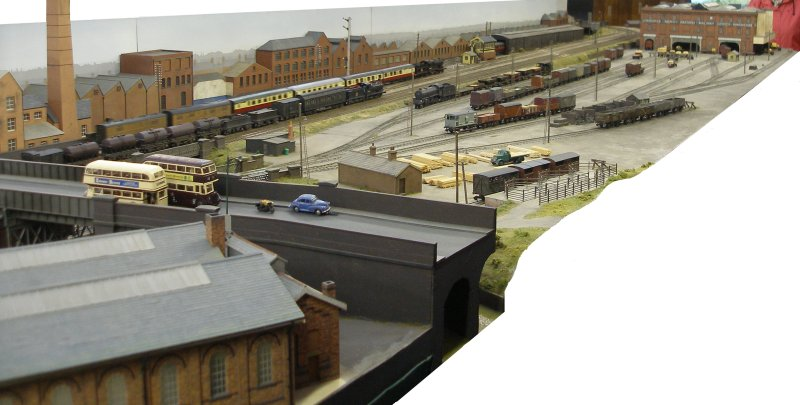 Shipley Model Railway Society's Leicester South layout as seen at Alexandra Palace on Sunday 29 March 2015.