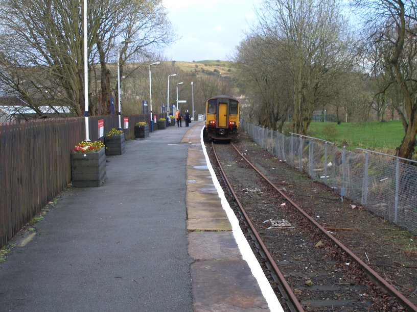 Colne Station 22 March 2014