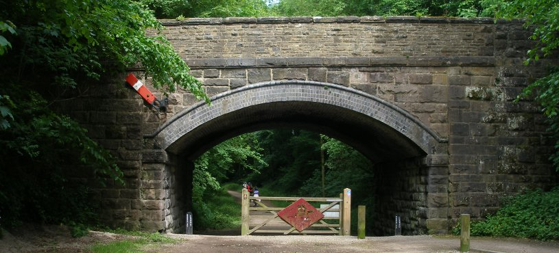 Railway bridge at Tissington