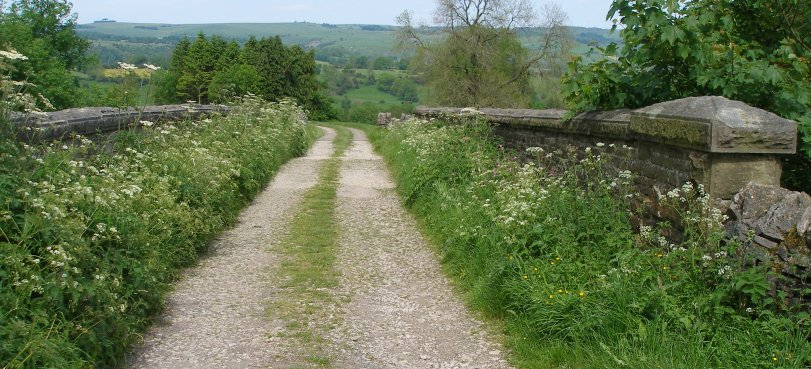 The second bridge north of Tissington