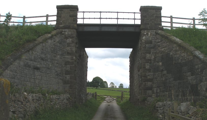 Bridge with steel decking on the Tissington Trail 8 June 2014