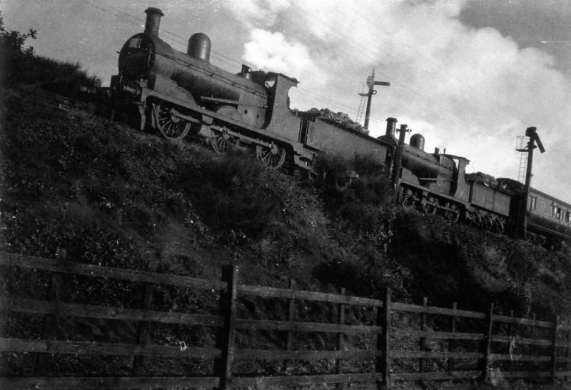 LYR 0-6-0s 12326 and 12352 pass Milner Royd Junction sometime in the late 1930s